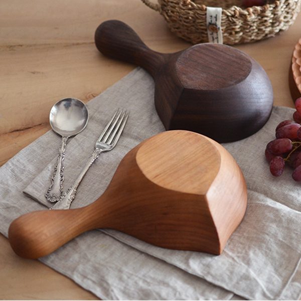 product image for wood salad bowl