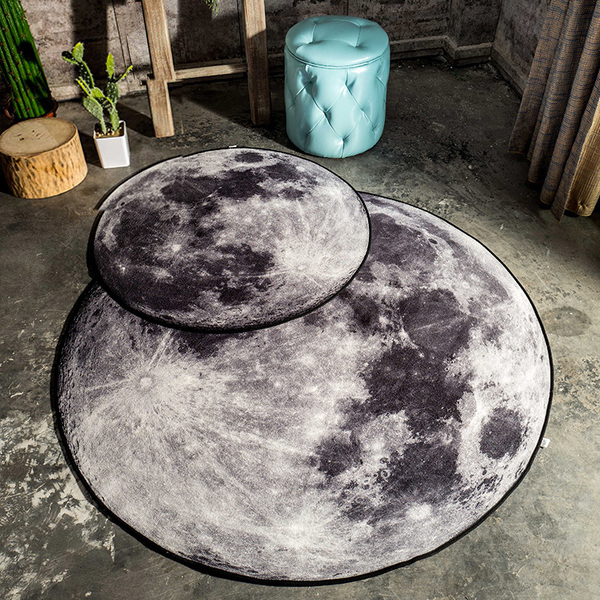 3d Moon Or Earth Area Rug Apollobox