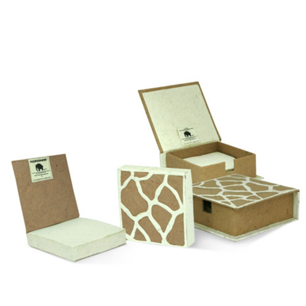 Giraffe Note Box and Pad Refill Set