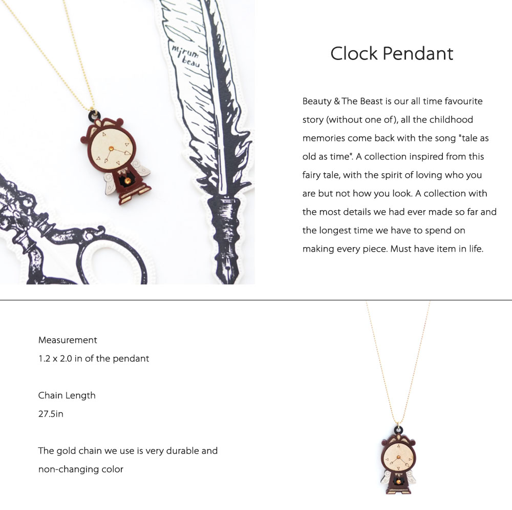 Clock Pendant A Must Have Item