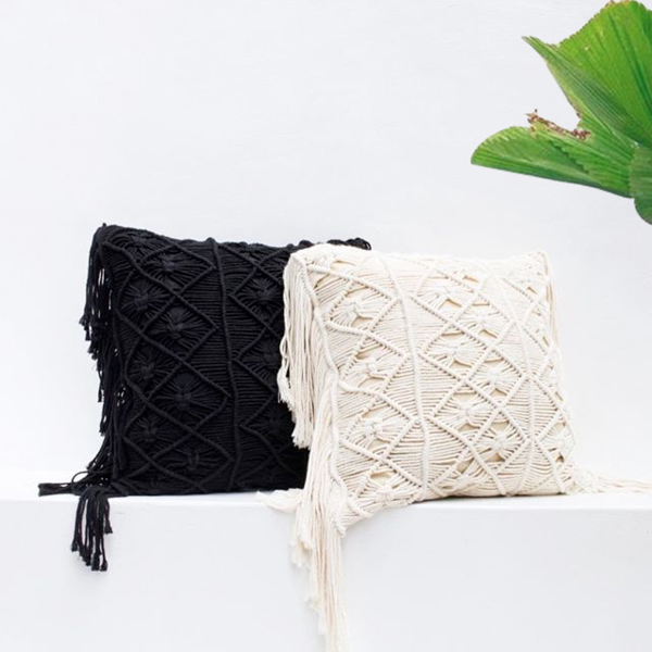 product image for Bali Macrame Pillow Cover