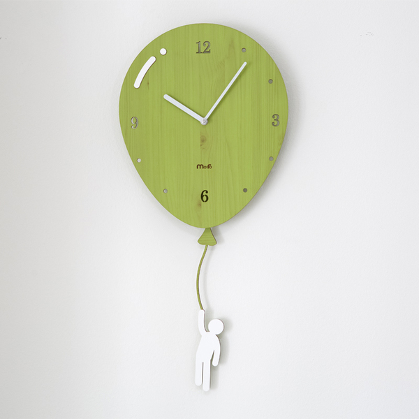 product thumbnail image for Floating Balloon Wall Clock
