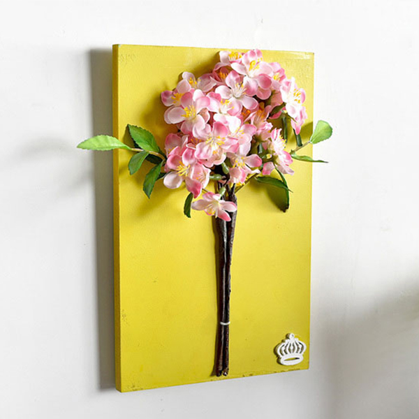 Faux Flower Wall Art - ApolloBox