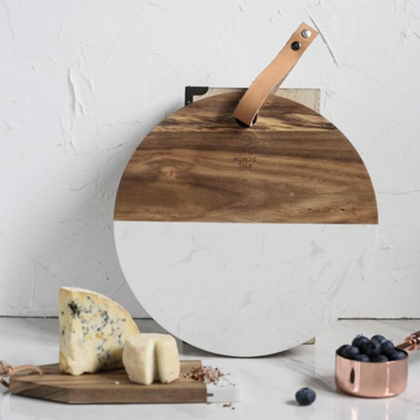 product image for Marble & Wood Cheese Board