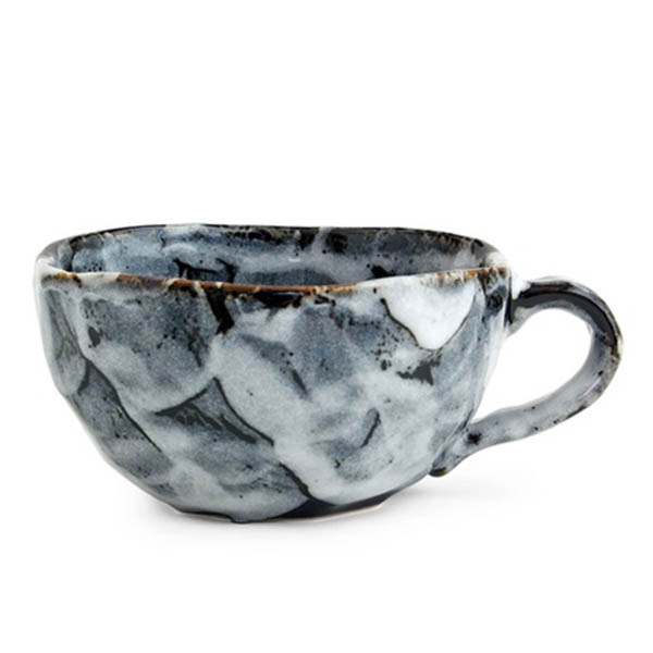 product thumbnail image for Japanese Boulder Mug - Black  (LIMIT STOCK)