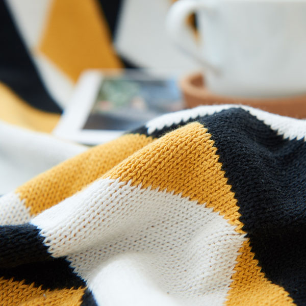 product image for Geometry Knit Blanket