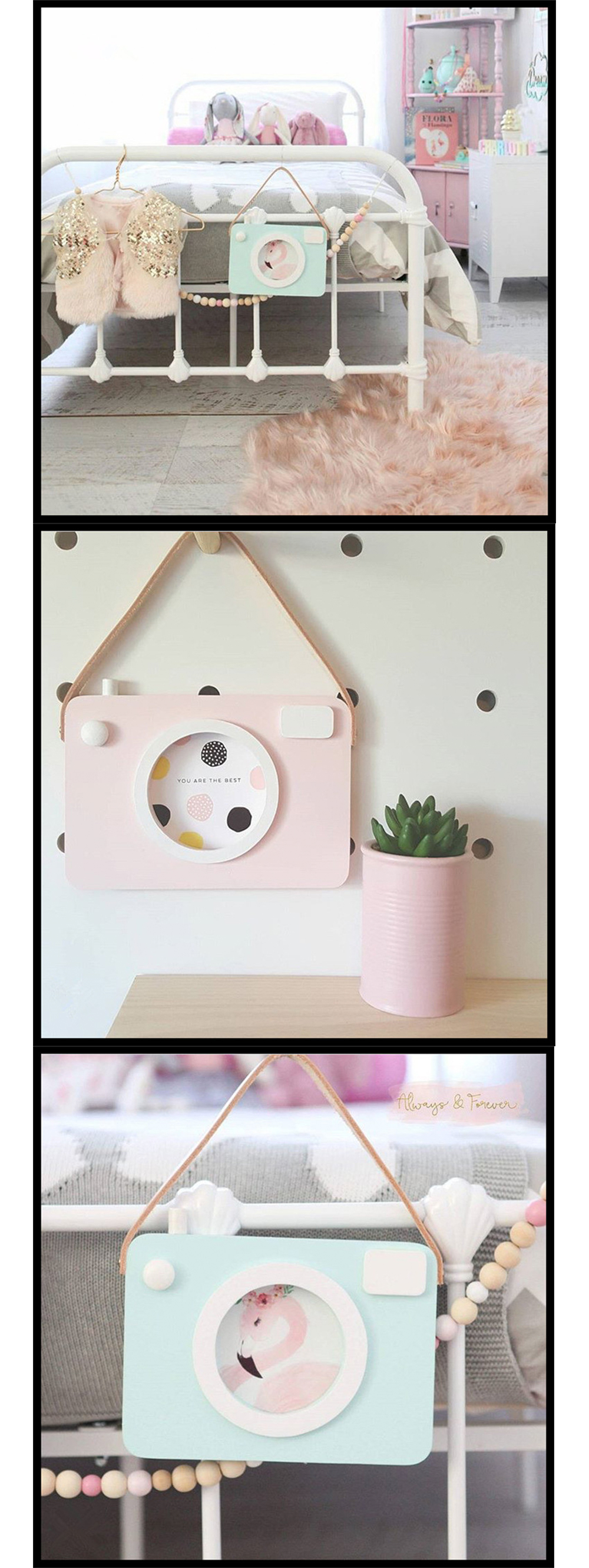 Camera Shaped Photo Frame Smile-Inducing Memories