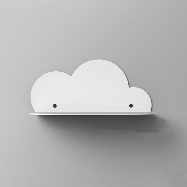 product thumbnail image for Metal Cloud Wall Shelf