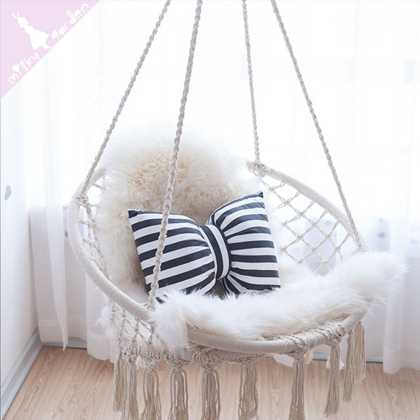 product thumbnail image for Milky Garden Hammock Chair