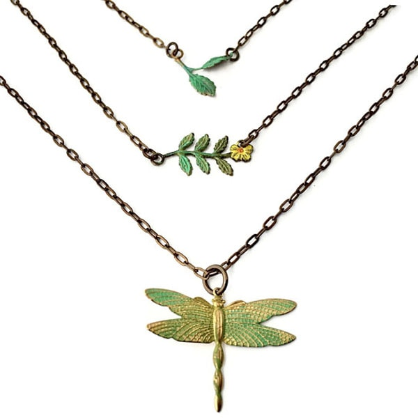 Dragonfly Summers Necklace Trio