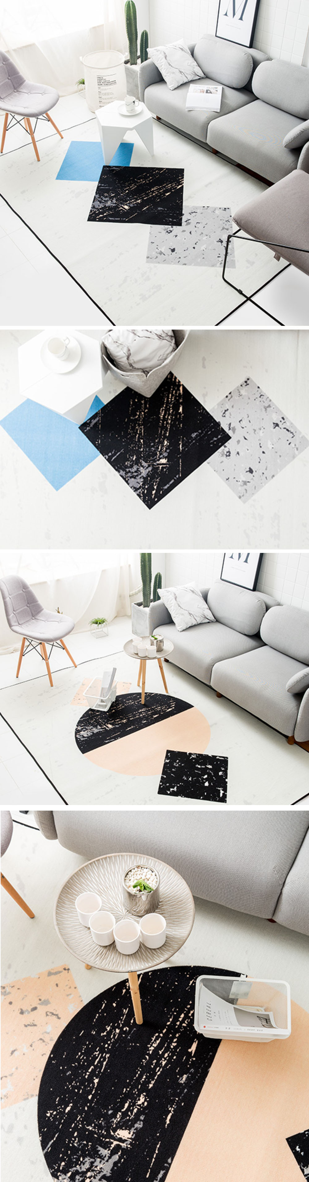 Gradient Area Rug Perfect For Your Living Room