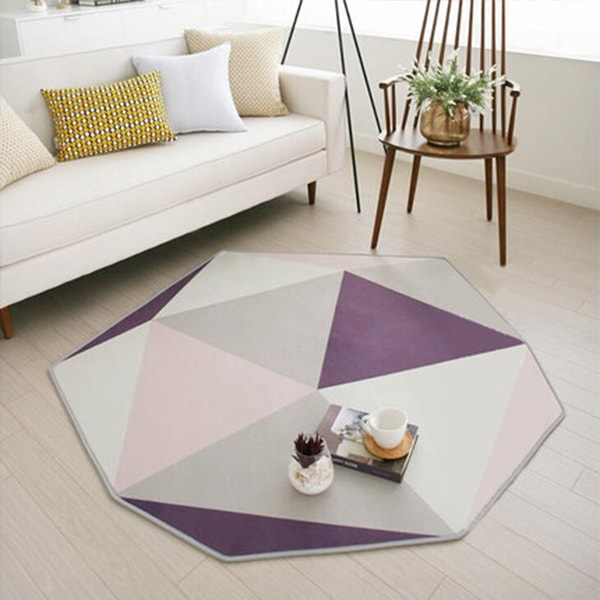 Octagon Area Rug
