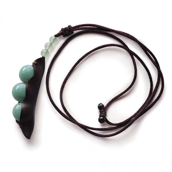 product image for Emerald Bead Pendant Necklace