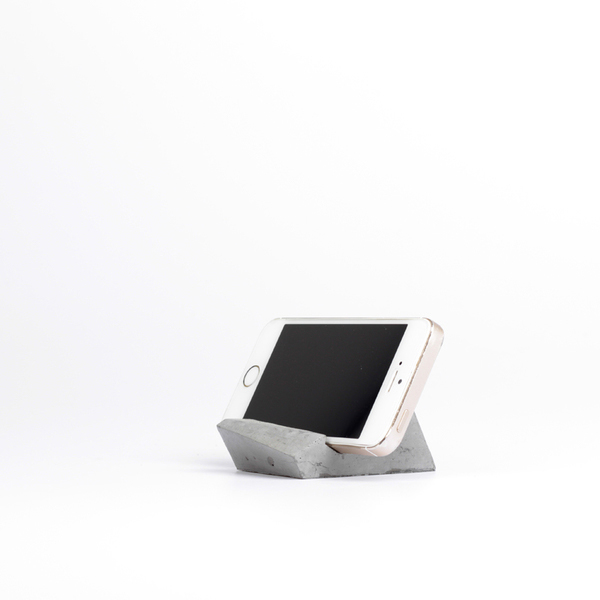 Concrete Phone Stand
