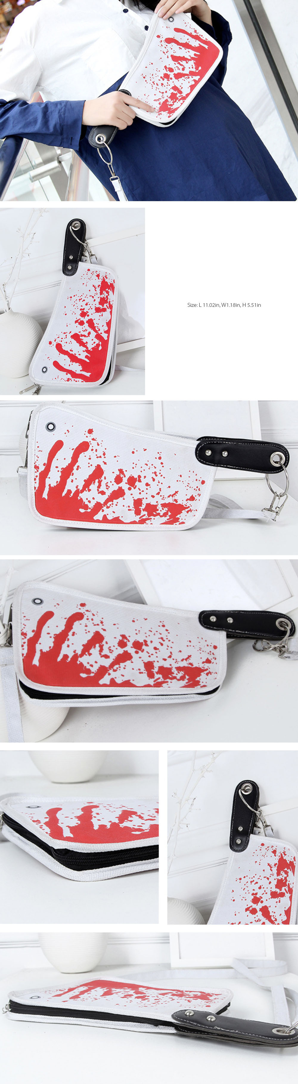 Knife Shape Bag Halloween Party