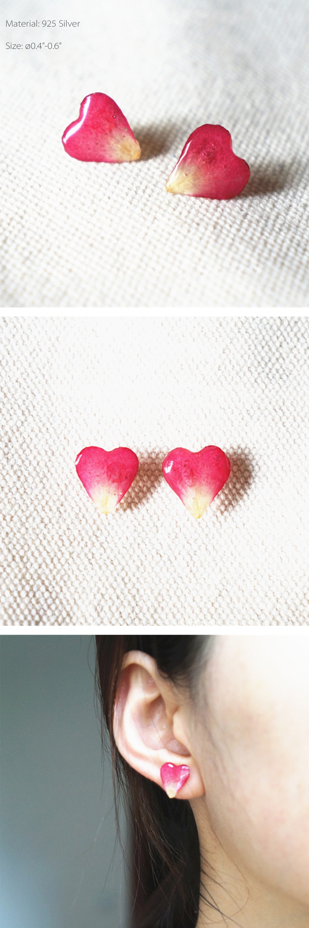 Petal Earring Embrace Our Range Of Lipstick