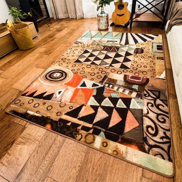 Modern Abstract Area Rug