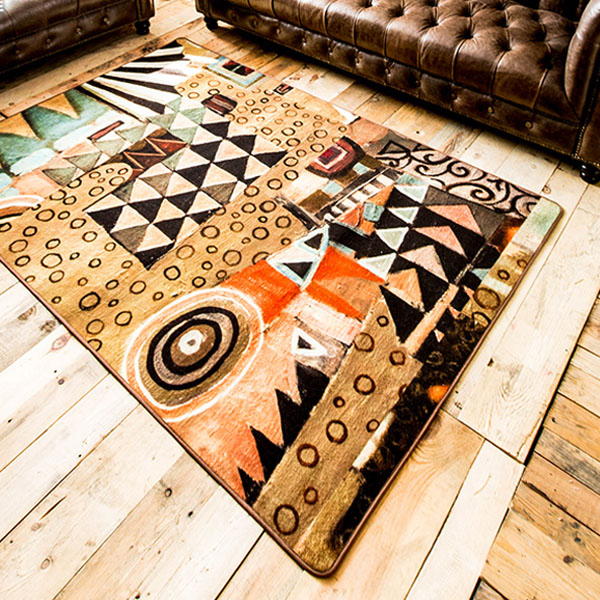 product image for Modern Abstract Area Rug
