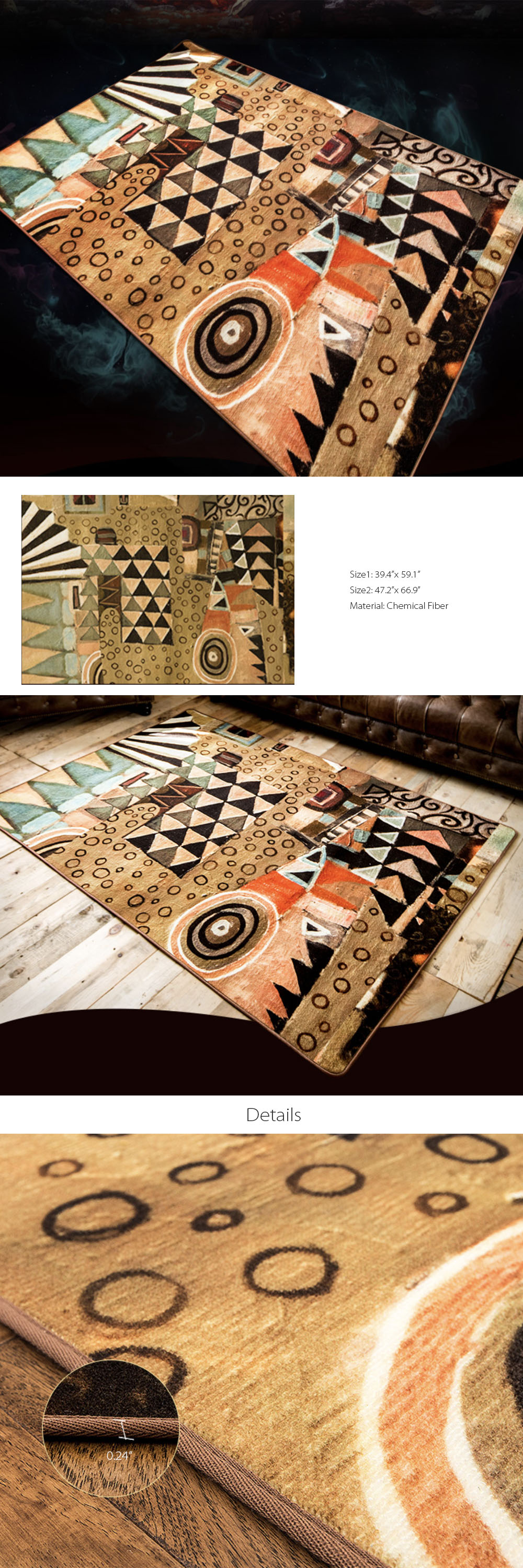 Geometric Mat Creative Pictures