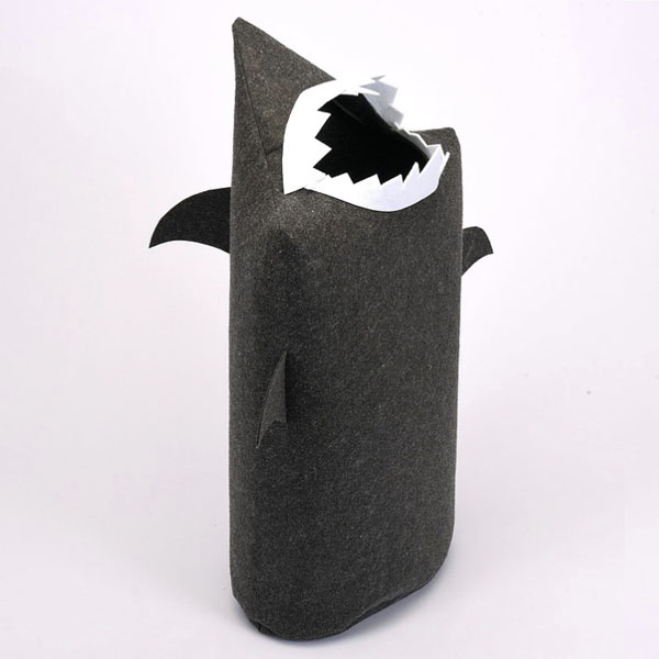 product thumbnail image for JawZ Shark Laundry Bin