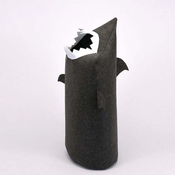product image for JawZ Shark Laundry Bin