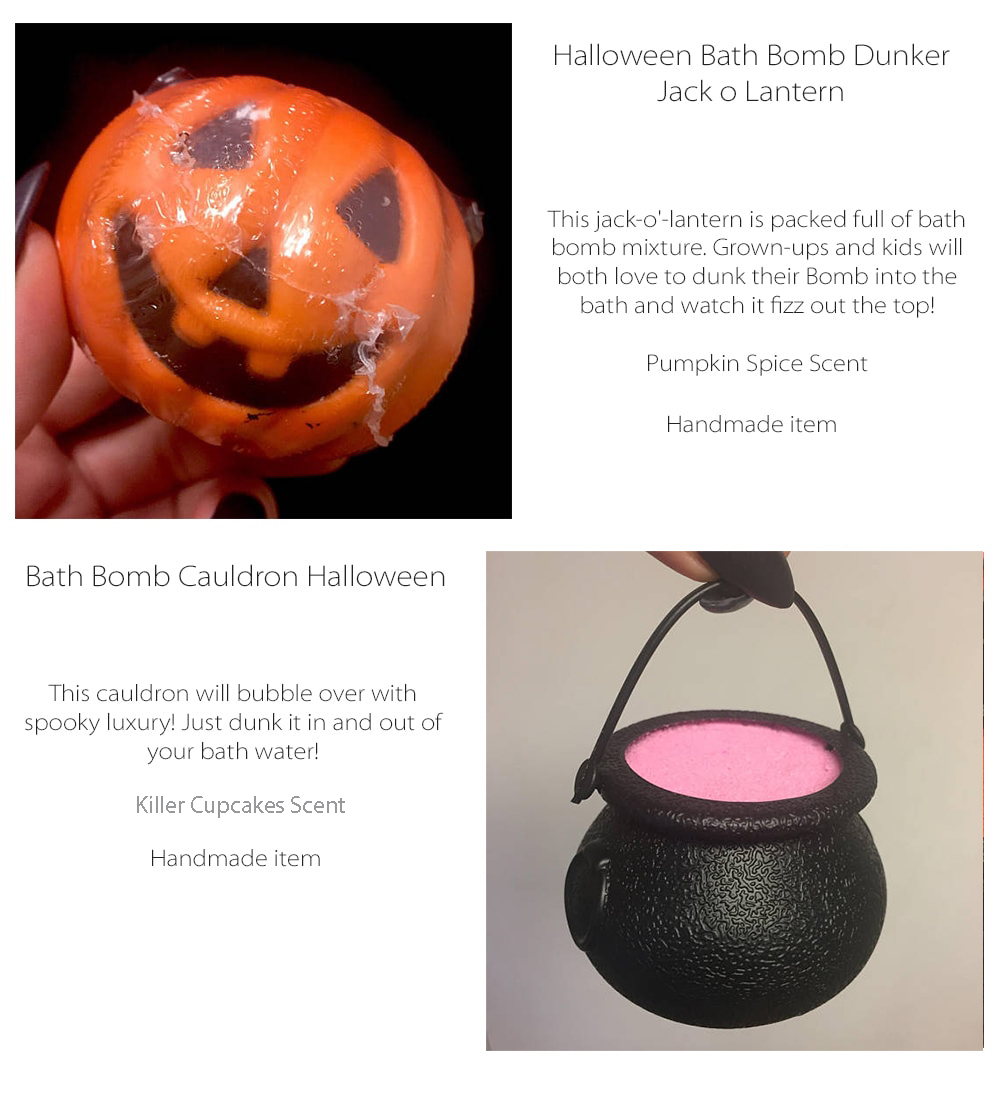 Halloween Bathbomb Made to Order