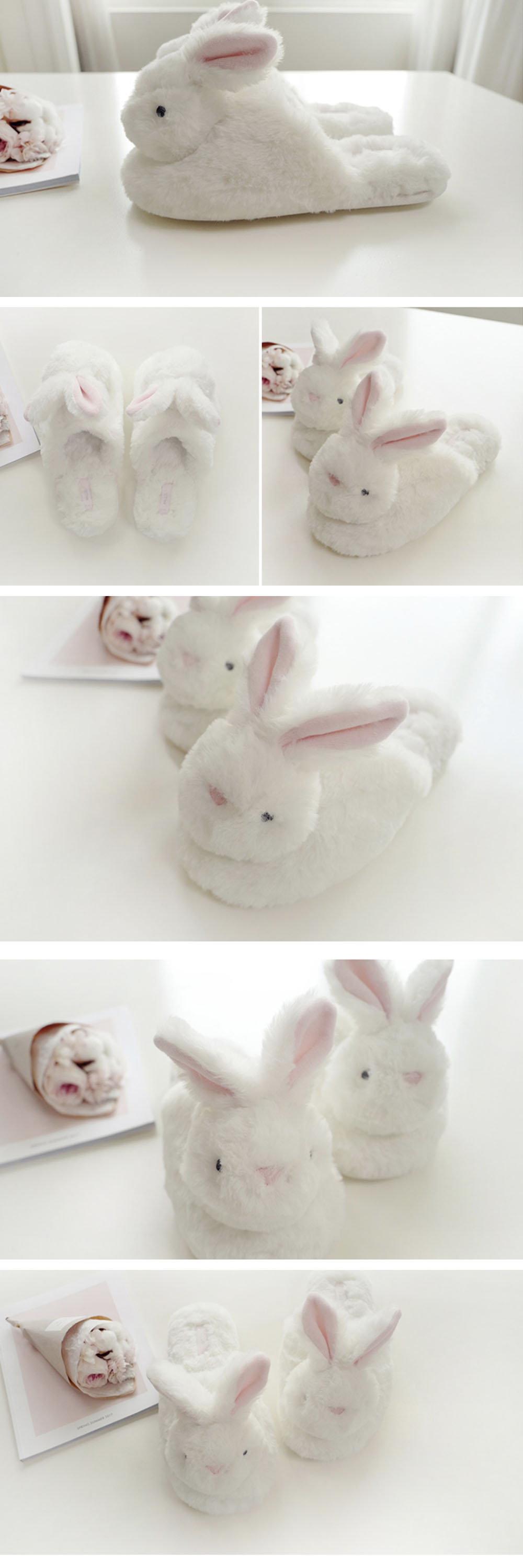 Rabbit Slipper Cute Collection