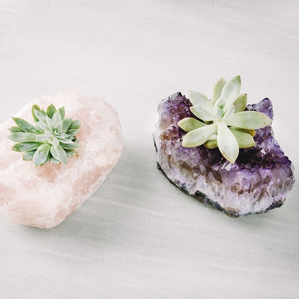product image for Amethyst Tea Light Holder