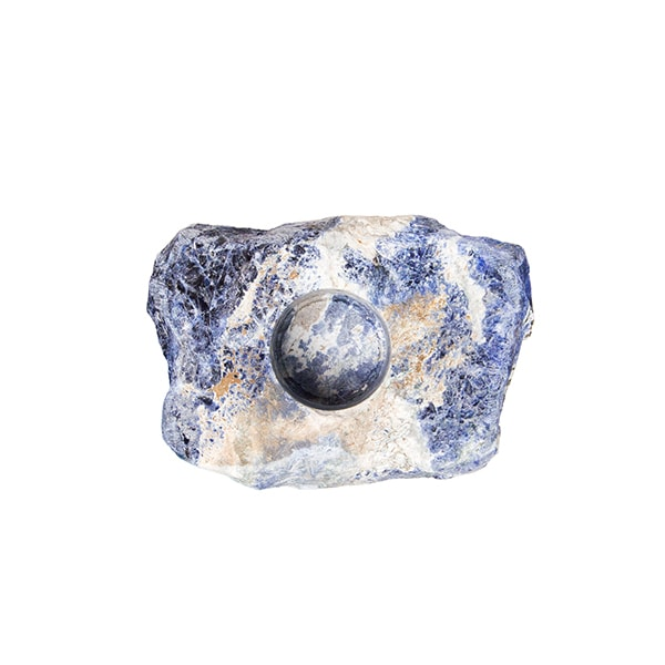 product image for Sodalite Crystal Tea Light Holder