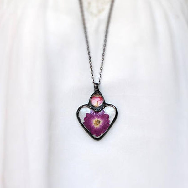 product image for Heart Flower Necklace