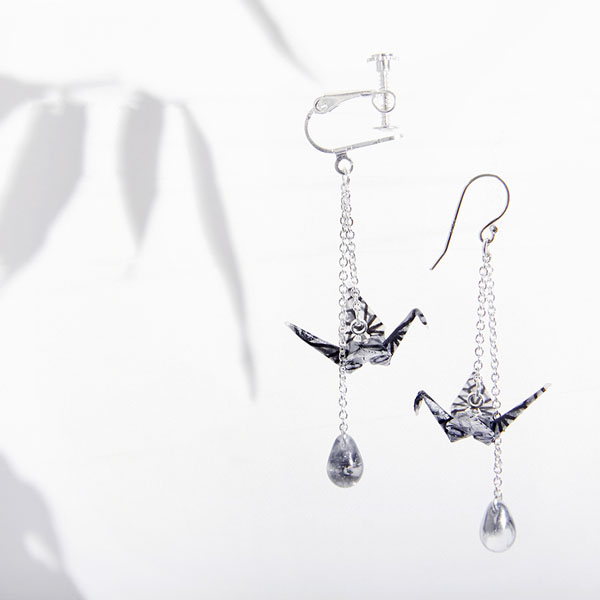 Crane Earring (Single)