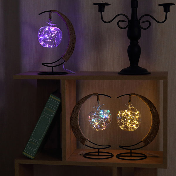 Nightstand With Night Light