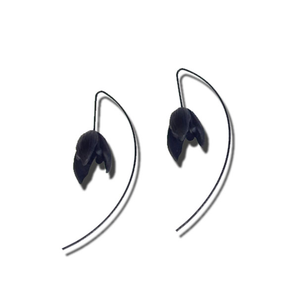 product image for Black Bud Earrings