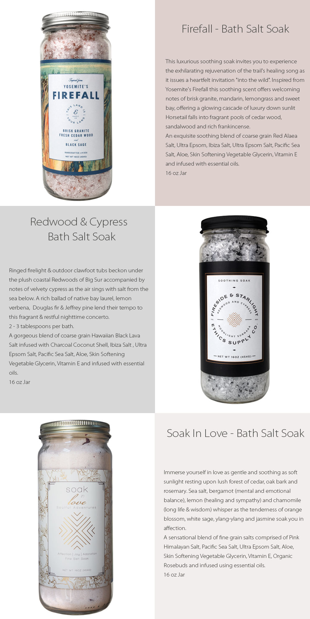 Bath Salt Soak Soothing Soak