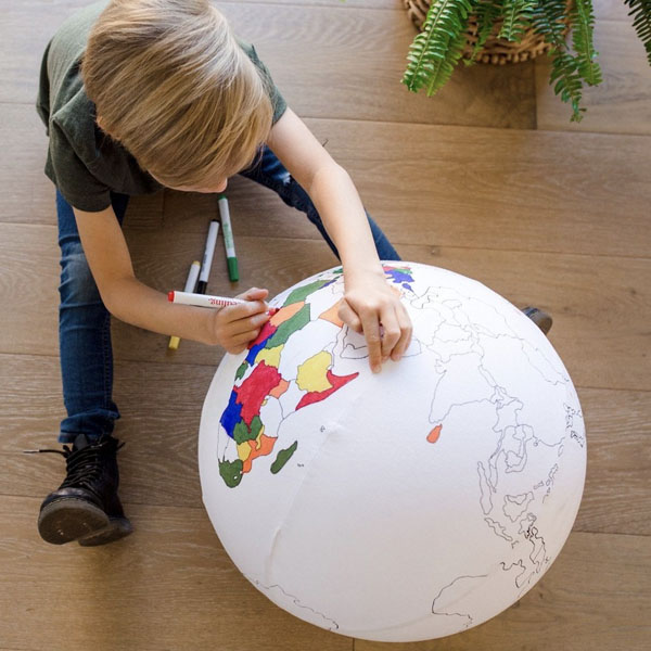 Color the Inflatable Ball