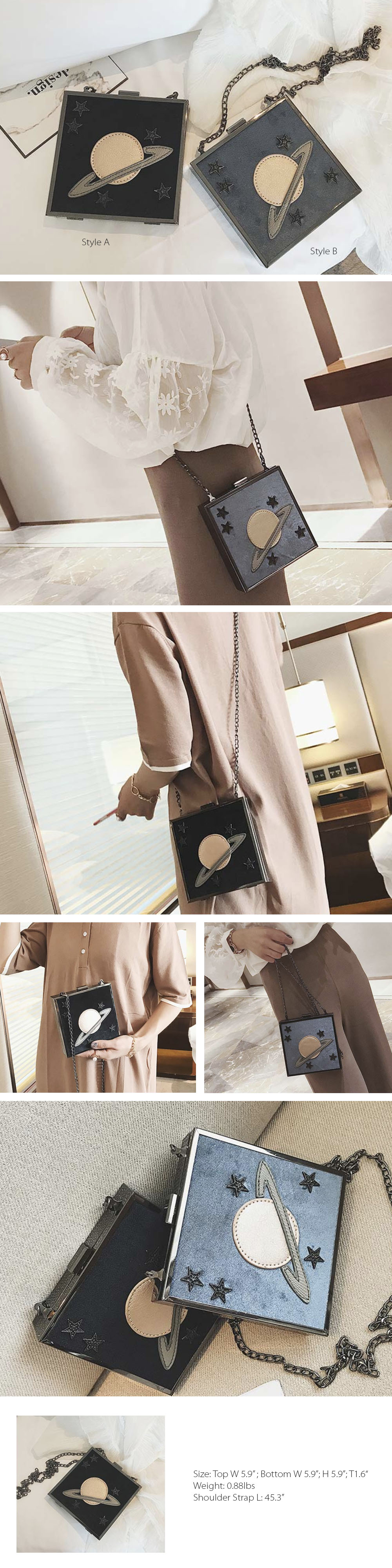 Moon Bag Crossbody Mini Bag