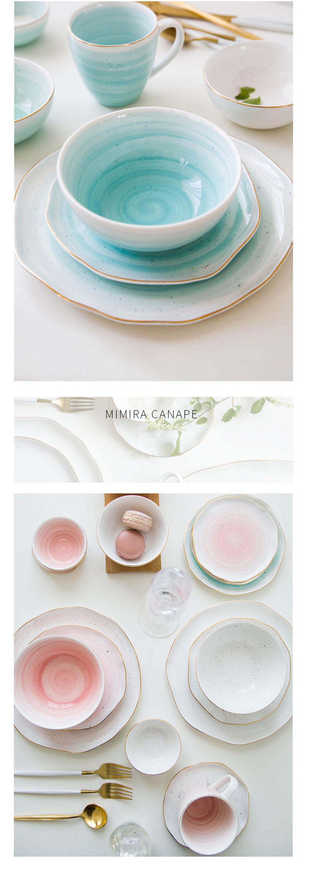 Mimira Bowl Handcrafted Dinnerware