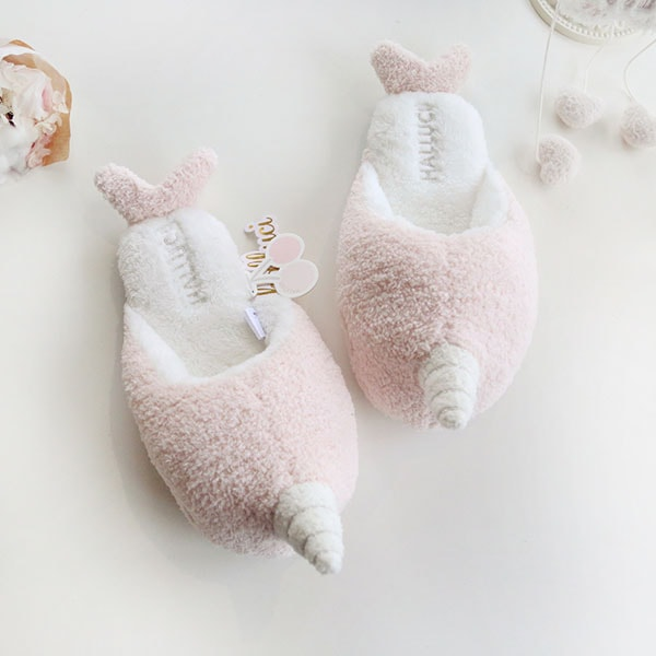 Narwhal Plush Slippers