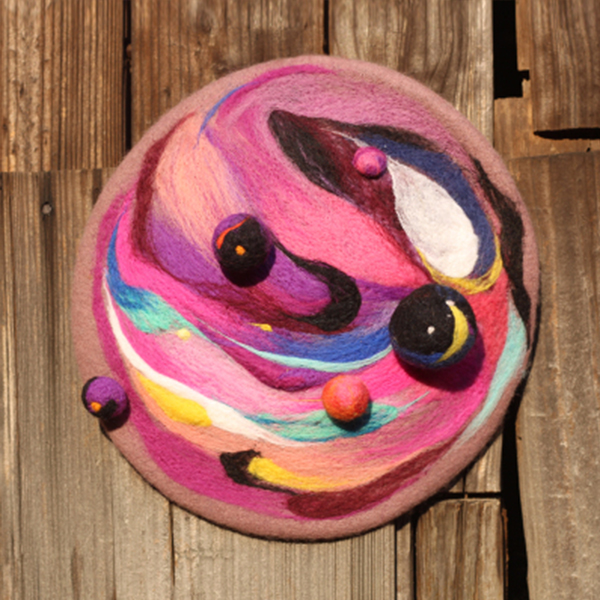 product image for Colorful Galaxy Beret