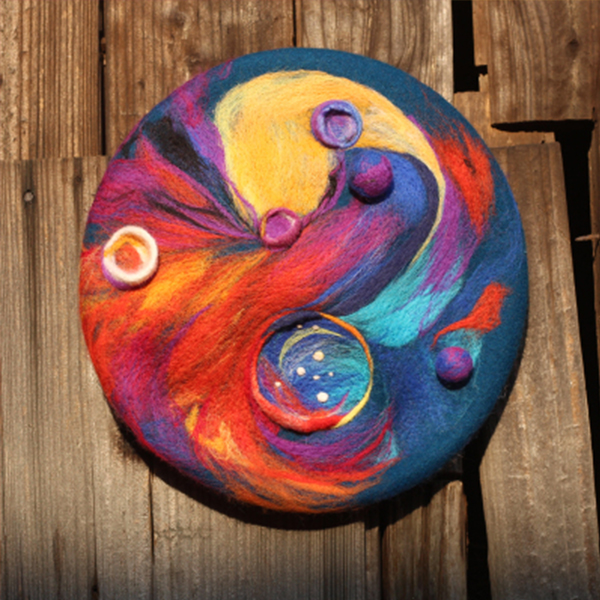 product thumbnail image for Colorful Galaxy Beret