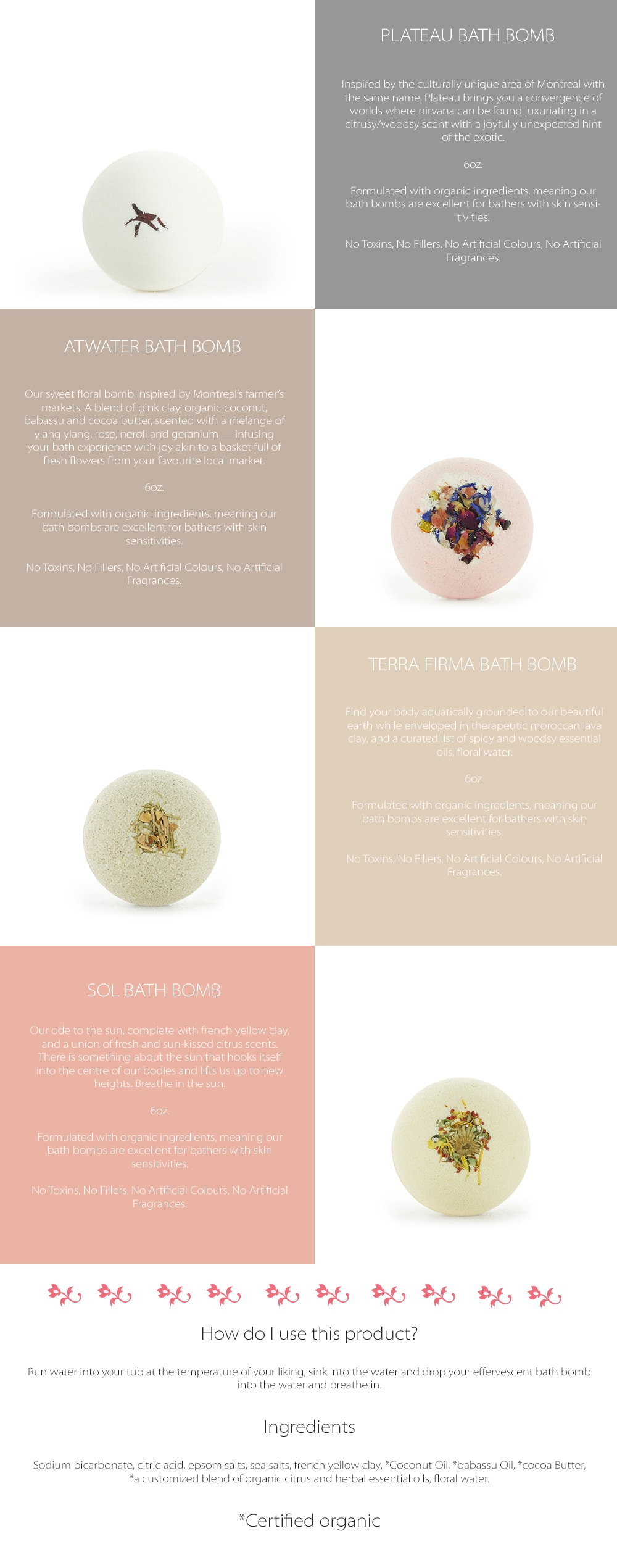 Bath Bomb Luxurious Natural Scent