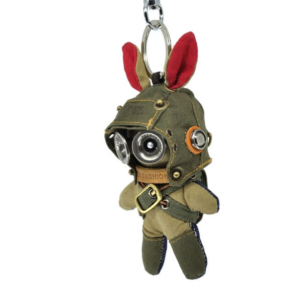 product image for Rag Doll Bunny Keychain