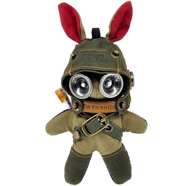 product thumbnail image for Rag Doll Bunny Keychain