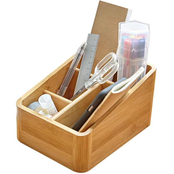 Wooden Tabletop Caddy