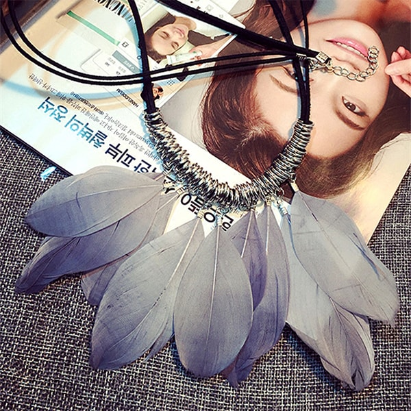 product image for Feather Pendant Necklace