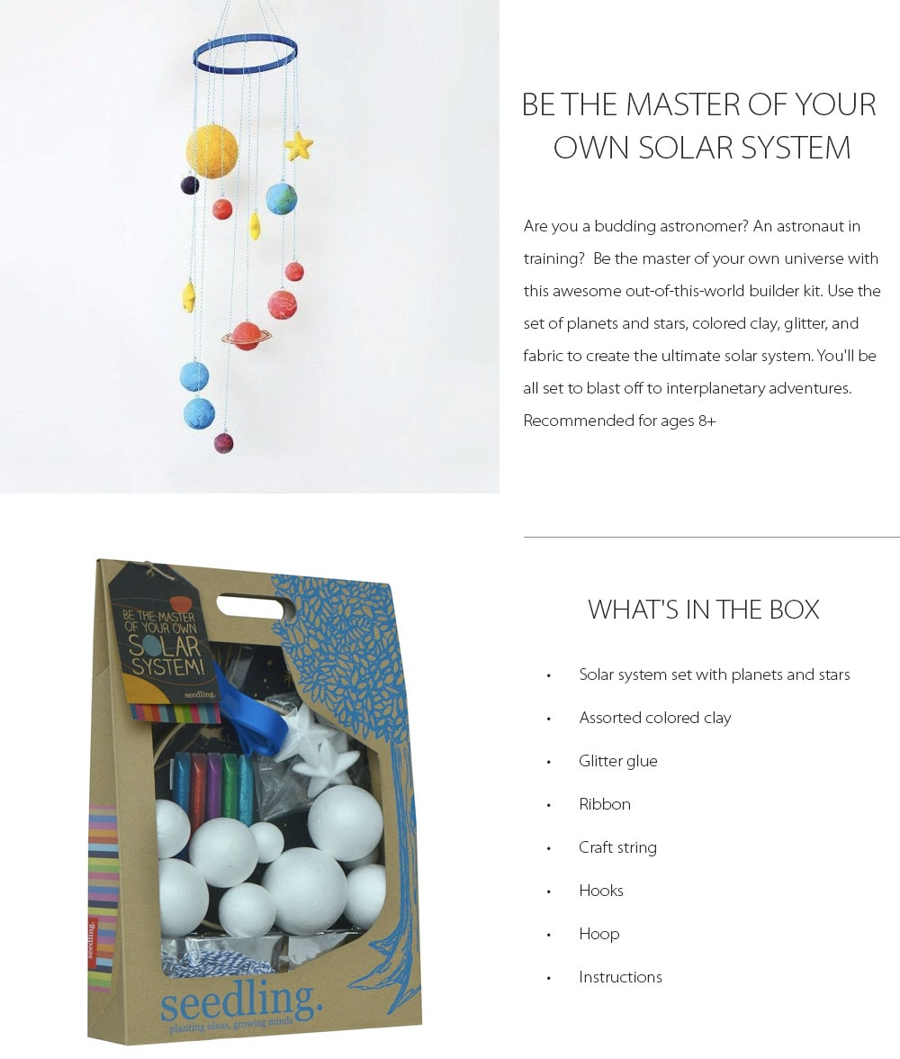 BE THE MASTER OF SOLAR SYSTEM DIY Kit