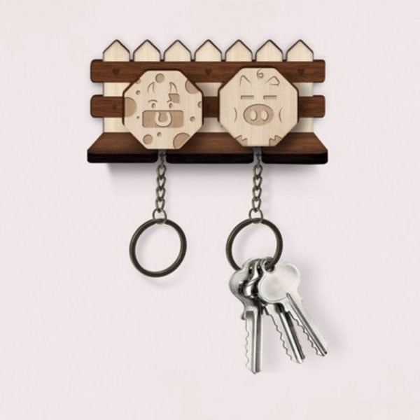product thumbnail image for Keychain Wall Rack