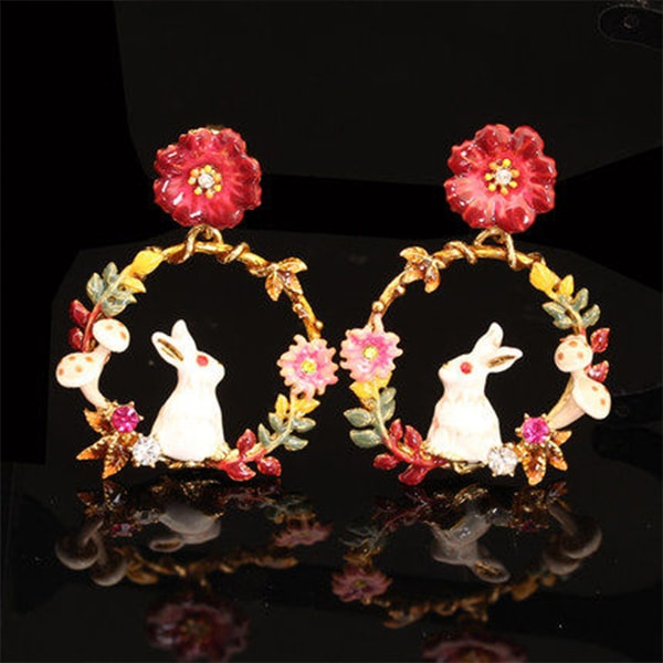 product image for Bunny Wreath Earrings