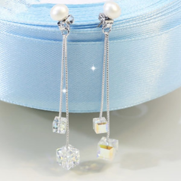 product image for Crystal Pearl Earrings