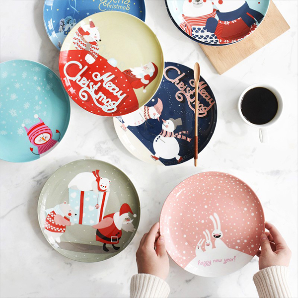 product image for Christmas Plates
